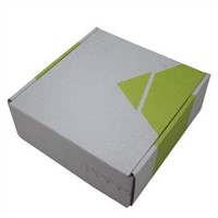custom printed corrugated mailer box with corrugated E