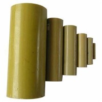 Electrical Insulation Fiberglass Round Tube