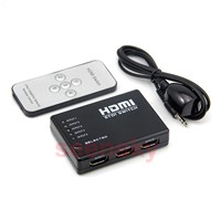 HDMI Switch Switcher Splitter 3D 3 in1 1080p 3 HD INPUT 1 OUTPUT for PS3 / Xbox 360