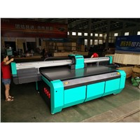 2500*1300mm UV Flatbed Printer with RICOH GEN5 Heads Heads for Rigid Flat Material like Glass, Ceramics, PVC Board, Wood