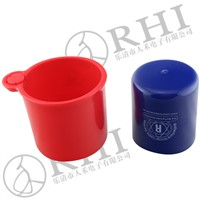 plastic PVC round cable pipe end cap