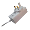 12V/3A AC/DC Adapter, 0.1-3.0A, The UK Plug, Energy Star Level VI