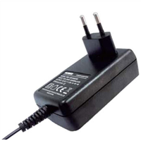 12V/2A Switching Power Adapter 0.1-2.0A, Eu Plug, Energy Star Level VI