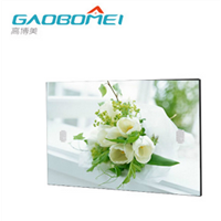 "47"" Indoor Mirror Floor Based Mirror Screen with Extremely Narrow Edge"