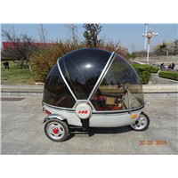 New Energy Vehicle Water-drop Design 3 Wheel Electric Mobility Scooter,Electro PickUp Tricycle