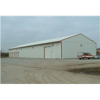 quick installation prefab steel structure space frame warehouse