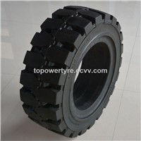 China Large Solid Tire Factory Pneumatic Solid Tyre 250-15