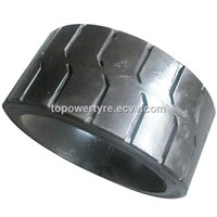 13 1/2*5 1/2*8 Press on Tire, Solid Press on Type Tyre 13 1/2x5 1/2x8,Traction or Smooth Pattern