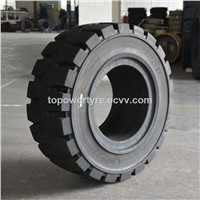 385/65-24 Solid Forklift Tire Pneumatic Rim Solid Tyre China