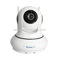 720P HD Wireless Monitor Camera, Best CCTV for Home Use with Ir Night Vision, Plug & Play
