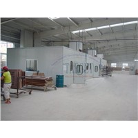 Wet Paint Booth /Wood Wet Spray Booth
