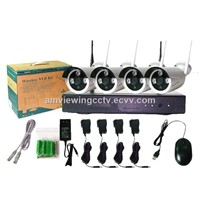 Waterproof Day/night 4/8CH HD Wifi NVR  Home Security Camera Systems,Wireless CCTV Camera Kits
