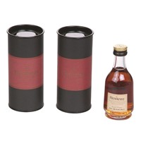 cardboard single wine glass bottle packaging tube box for wine