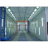Bus Spray Booth for Sale/Industrial Paint Room/Truck Painting & Baking Booth TG-18-50