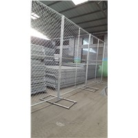 6'x12'outdoor American Used Temporary Construct Chain Link Fence for Safety with Feet