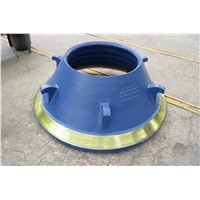 high quality cone crusher spare parts concave and mantle spare parts for crusher