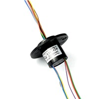 12 Circuits Capsule Slip Ring For Infrared Camera With Smooth Running