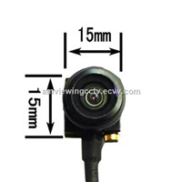600TVL 3 Rings with 2.5 Jack Wide Angle Fisheye Lens Miniature Camera,Mini Surveillance Camera