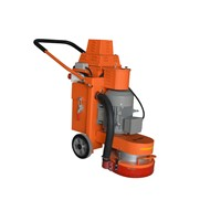 Concrete epoxy resin floor grinder machine