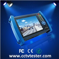 7 inch touch screen mult-function ip cctv tester