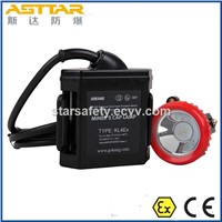 Atex Certified Miners Lamp, Rechargeable Battery LED Mining Headlamp & Miners Helmet Lamp
