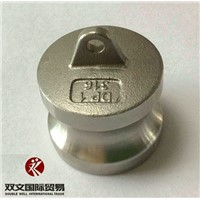 SS 316 cam lock fittings coupler male plug Type DP