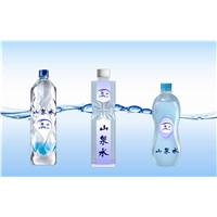 Double Face Printed Mineral Water Bottle Used Plastic Adhesive Labels