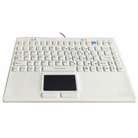 IP68 Silicone Medical Keyboard with Touchpad (X-TP91SD)