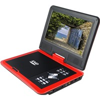 Rotatable USB Portable DVD Player with FM