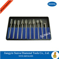 SUNVA Carbide Burs/Tungsten Carbide Burr