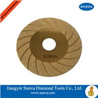 SUNVA-DD-100 Diamond Disc with Ti coated/Cutting Blades