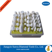 SUNVA Felt bobs/wheel wool mounted polishing tools
