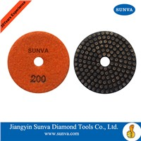 SUNVA Metal Bonded Soft Polishing Pads/Diamond Flexible Polishing Pads