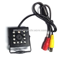 420TVL Mini High Security Night Vision Camera With Flat Cone Pinhole Lens