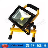 Aluminum Portable Outdoor 20w 30w Rechargeable Flood Lights