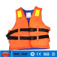 Customerized Orange Reflective Life Vest with Lifesaving Whistle