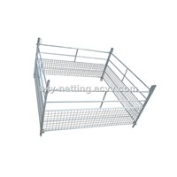 Half Part Mesh Design Lamb Hurdle Sheep Pen