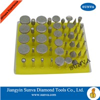 SUNVA-SZ-8 Diamond Mounted Points 50pcs/set