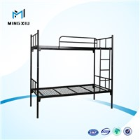 Mingxiu high quality metal frame bunk beds / easy assembly metal bunk bed