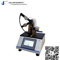 Plastic film tearing force tester