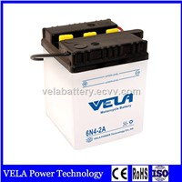 Best Price China Brand 6N4-2A Conventional Dry Charged Lead Acid Motorcycle Battery