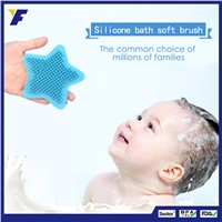 Soft Baby Body Massager Cleaner Silicone Bath Brush