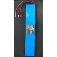 36V 10Ah Electric Vehicle Battery with Lithium Rechargeable Battery Pack