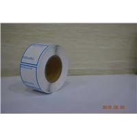 Blank Custom Fan Fold Direct Thermal Label