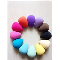 Fashionable water drop tear drop latex-free powder puff sponge