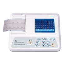 Adjustable Parameters Single Channel Ecg Machine With 12 Leads