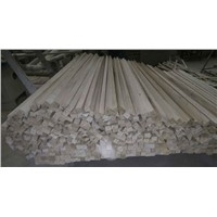 Natural Color Paulownia Triquetrous/triangular / Triangle Chamfer Strip