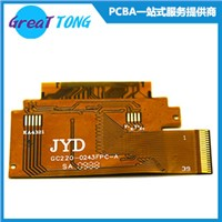 Flexible Printed Circuit  FPC for LCD Golden Finger FPC