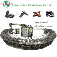 PU Slippers, Sandals & Flip Flops Making Machine/PU Shoe Moulding Machinery