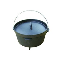 Dutch oven;camping Dutch oven;Forrset cast iron Dutch oven;
